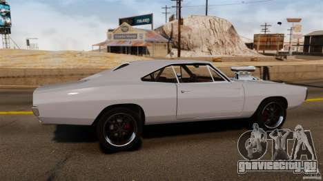 Dodge Charger RT 1970 для GTA 4 вид слева