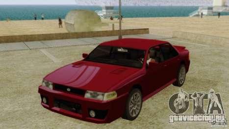 Sultan SRX для GTA San Andreas
