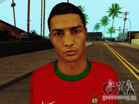 Криштиану Роналду v4 для GTA San Andreas шестой скриншот