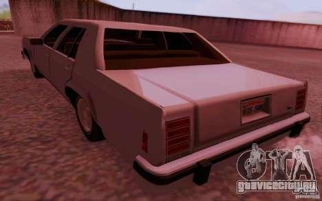 Ford Crown  Victoria LTD 1985 для GTA San Andreas вид слева