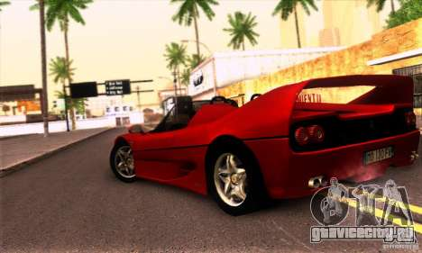 Ferrari F50 Spider для GTA San Andreas вид справа