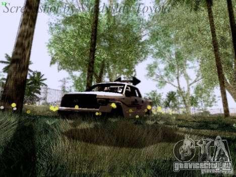 Ford F-150 Road Sheriff для GTA San Andreas вид сверху
