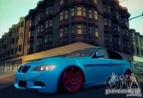 BMW M3 E90 для GTA San Andreas вид сбоку