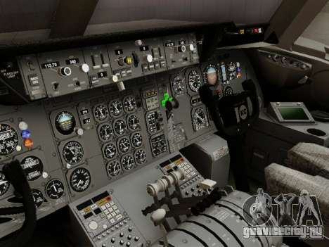 McDonell Douglas DC-10-30 Continental для GTA San Andreas вид изнутри