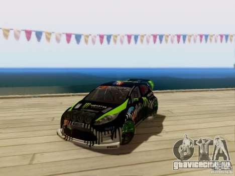 Ford Fiesta Gymkhana 3 для GTA San Andreas вид слева