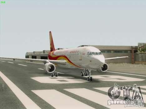 Airbus A320-214 Hong Kong Airlines для GTA San Andreas вид справа