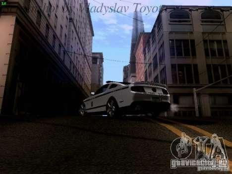 Ford Mustang GT 2011 Police Enforcement для GTA San Andreas колёса