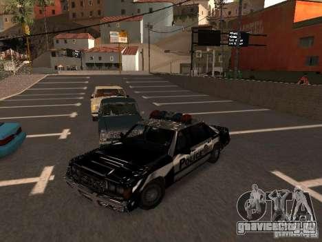 Police VC для GTA San Andreas вид сзади