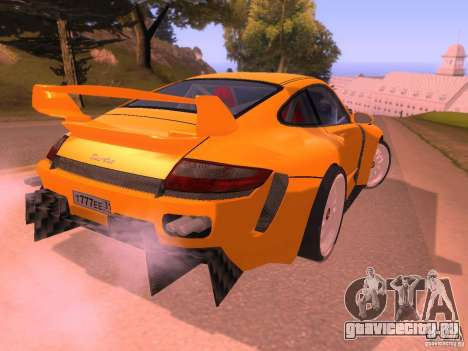 Porsche 911 Turbo Tuning для GTA San Andreas вид справа