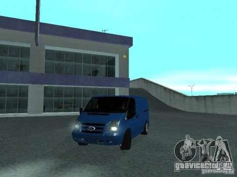 Ford Transit Sport 2011 для GTA San Andreas вид сзади слева