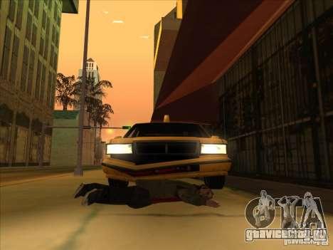 Кровь на машине v2 для GTA San Andreas третий скриншот