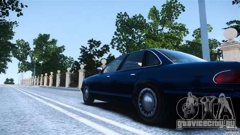 Civilian Taxi - Police - Noose Cruiser для GTA 4 вид сзади слева