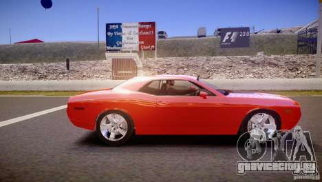 Dodge Challenger RT 2006 для GTA 4 вид слева
