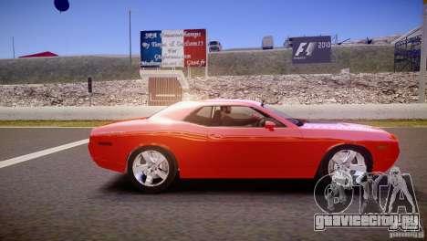 Dodge Challenger RT 2006 для GTA 4 вид слева