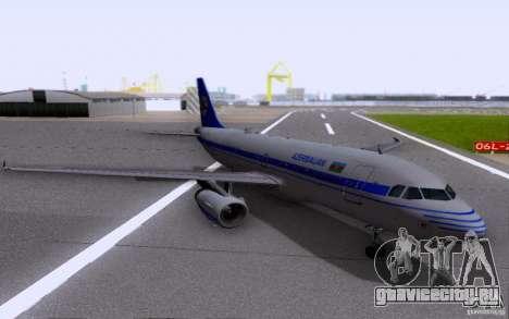 Airbus A-319 Azerbaijan Airlines для GTA San Andreas