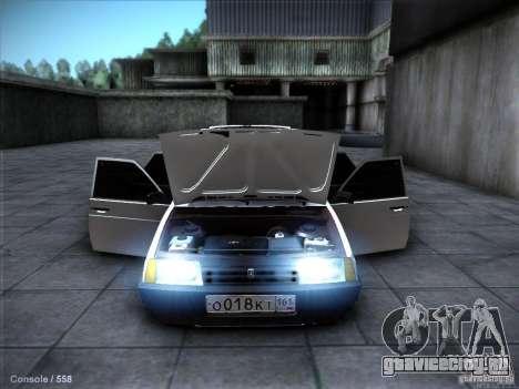 ВАЗ 2109 Ростов для GTA San Andreas вид сверху