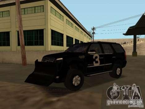 Cadillac Escalade Таллахасси для GTA San Andreas вид сбоку