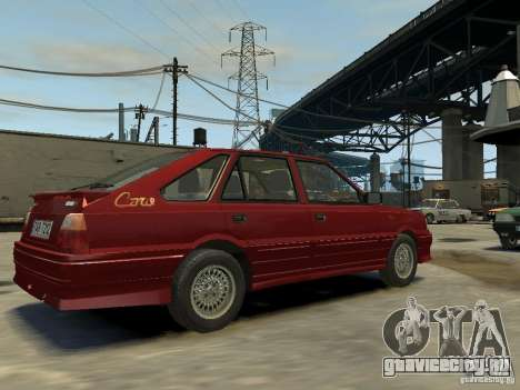 FSO Polonez Каро для GTA 4 вид слева