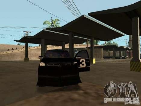 Cadillac Escalade Таллахасси для GTA San Andreas вид сверху