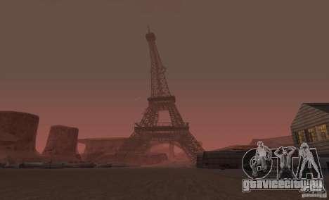 Эйфелева Башня из Call of Duty Modern Warfare 3 для GTA San Andreas второй скриншот
