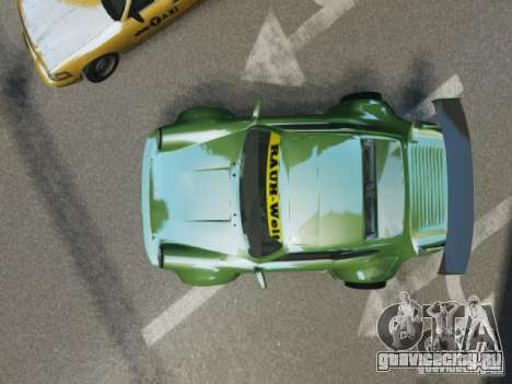 Porsche 911 Turbo RWB Pandora One Beta для GTA 4 вид изнутри