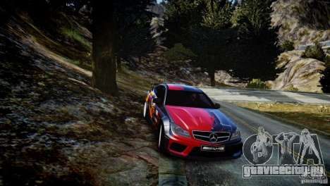Mercedes Benz C63 AMG SAIBON Paint Job для GTA 4