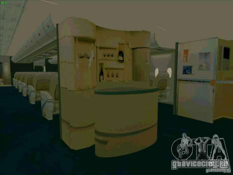 Airbus A380-800 для GTA San Andreas