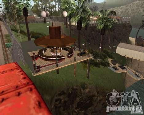 Вилла в Рыбацкой лагуне для GTA San Andreas третий скриншот
