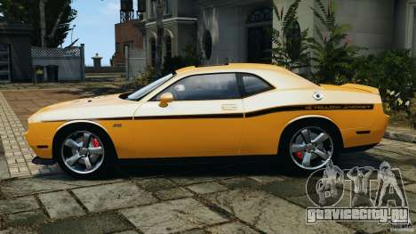 Dodge Challenger SRT8 392 2012 [EPM] для GTA 4 вид слева