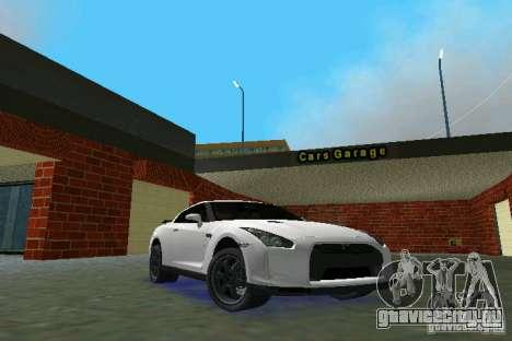 Nissan GT-R Spec V 2010 v1.0 для GTA Vice City