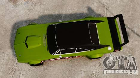 Dodge Charger RT SharkWide для GTA 4 вид справа