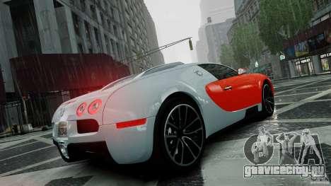 Bugatti Veyron 16.4 v1.0 wheel 1 для GTA 4 вид сверху