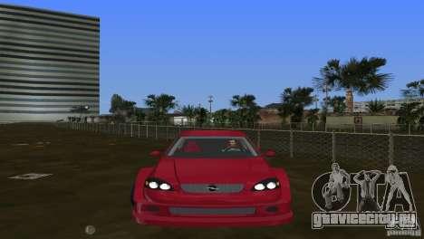 Opel Astra DTM для GTA Vice City вид сзади слева