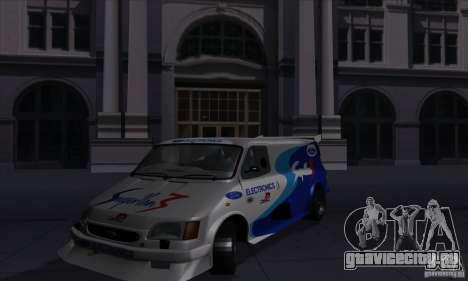 Ford Transit Supervan 3 2004 для GTA San Andreas