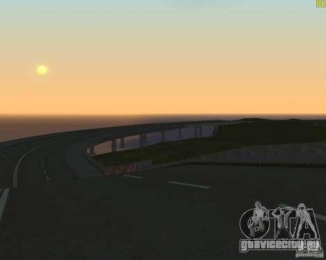 Достроенная дорога для  Криминальной России для GTA San Andreas третий скриншот