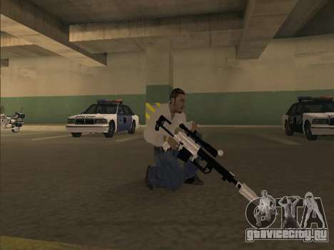 Chrome Weapons Pack для GTA San Andreas четвёртый скриншот