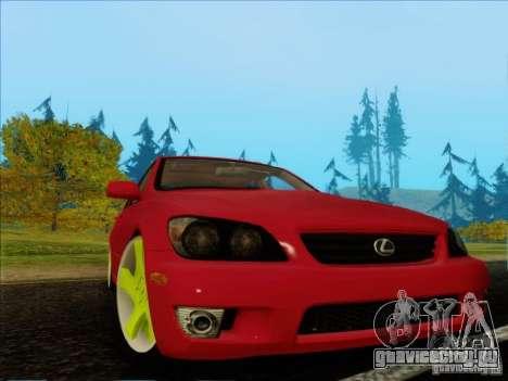 Lexus IS300 Edit для GTA San Andreas вид слева