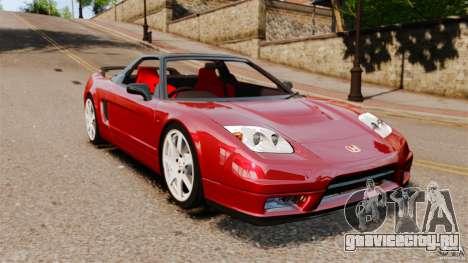 Honda NSX-R (NA2) 2005 для GTA 4