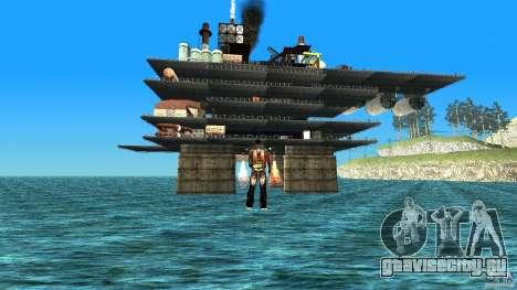 Нефтяная платформа в Лос-Сантос для GTA San Andreas
