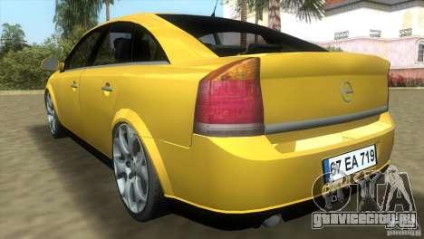 Opel Vectra для GTA Vice City вид справа