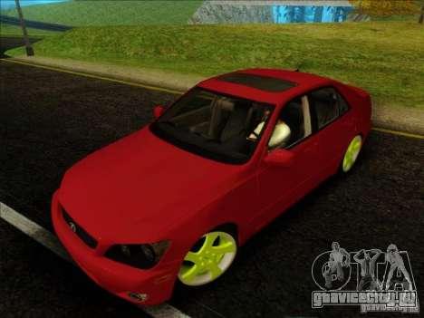 Lexus IS300 Edit для GTA San Andreas