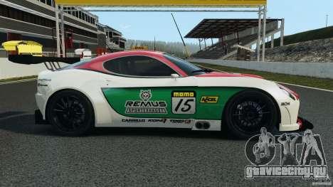 Alfa Romeo 8C Competizione Body Kit 1 для GTA 4 вид слева