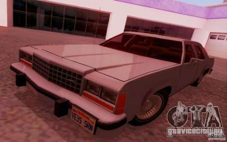 Ford Crown  Victoria LTD 1985 для GTA San Andreas вид сзади слева