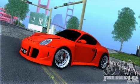 Porsche Cayman S v2 для GTA San Andreas вид слева