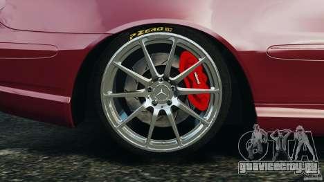 Mercedes-Benz CLK 63 AMG для GTA 4 вид сверху