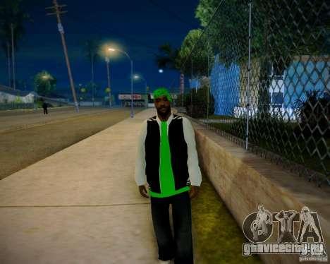 Skins pack gang Grove для GTA San Andreas четвёртый скриншот