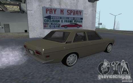 Datsun 510 для GTA San Andreas вид слева
