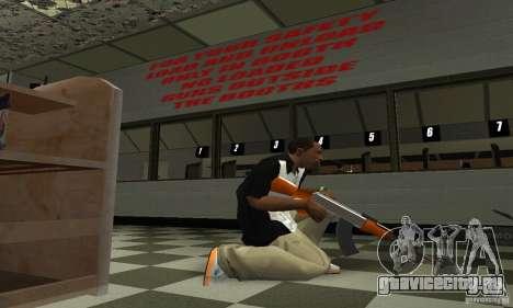 Новый АК-47 для GTA San Andreas третий скриншот