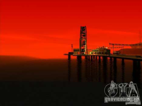 ENBSeries v1.0 для GTA San Andreas восьмой скриншот