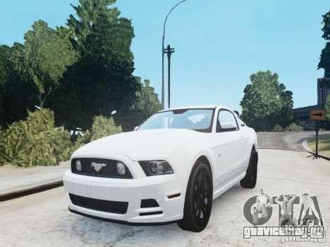 Ford Mustang GT 2013 для GTA 4 вид справа